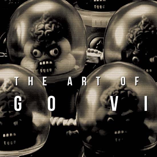 """THE ART OF GOCCODO """"GO VINYL"""""""