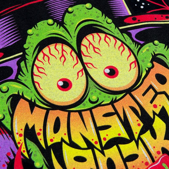 MONSTER ROCK × ROLLING CRADLE W-NAME Tシャツ