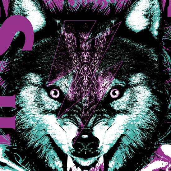 SKULLSHIT × MAN WITH A MISSION W-NAME Tシャツ